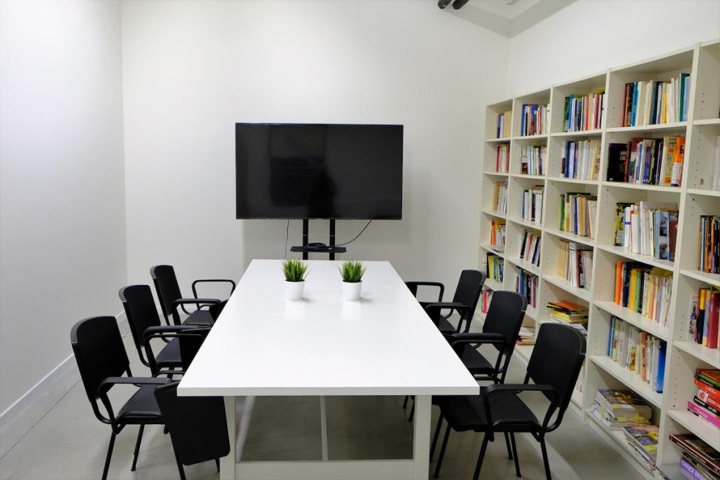 Sala riunioni e biblioteca