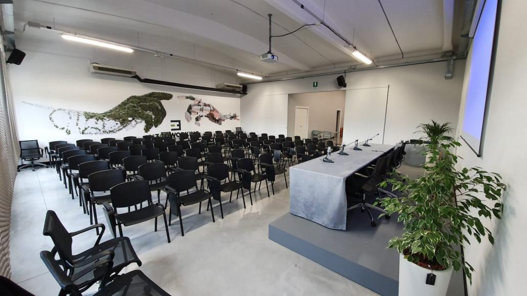 Sala eventi da 80 posti
